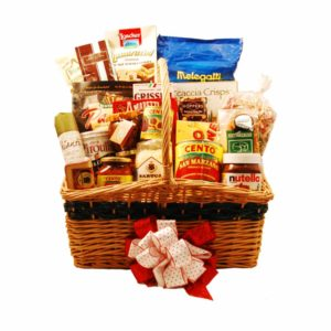 A Taste of Italy Deluxe Gift Basket